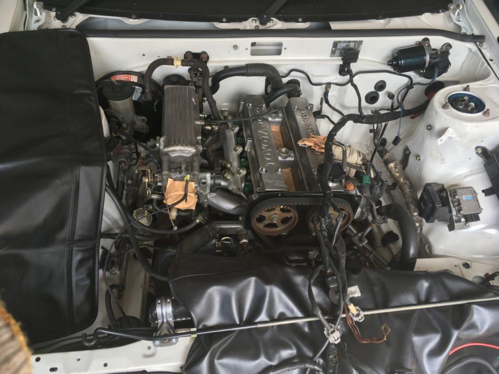 配管が完了した16バルブ4A-G